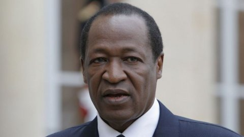Verdreven president Burkina Faso in Marokko