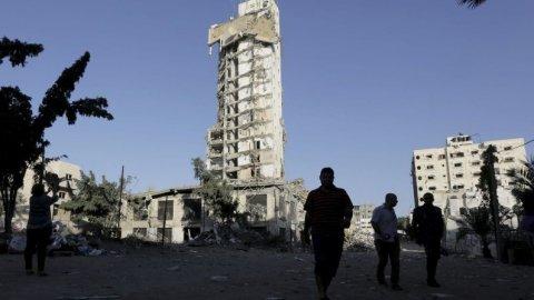 Burgers in verwoest Gaza pakken leven weer op